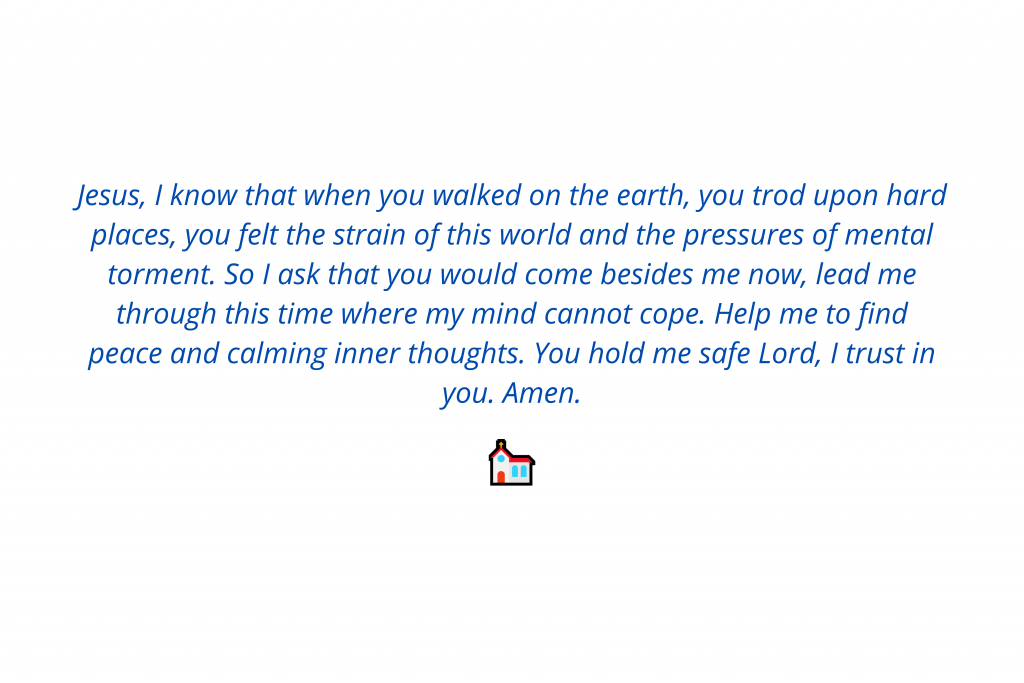 prayer for mental healing