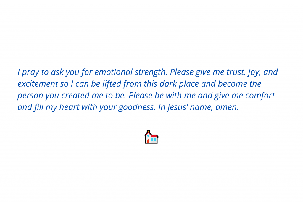 Prayers for strength 2