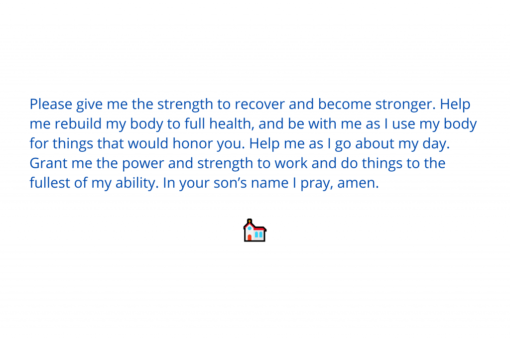 Prayers for strength 3